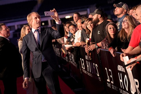ARLINGTON, TX - JANUARY 12: Director/producer Michael Bay attends the Dallas Premiere of the Paramount Pictures film í13 Hours: The Secret Soldiers of Benghazií at the AT&T Dallas Cowboys Stadium on January 12, 2016 in Arlington, Texas. (Photo by Jason Kempin/Getty Images for Paramount Pictures)