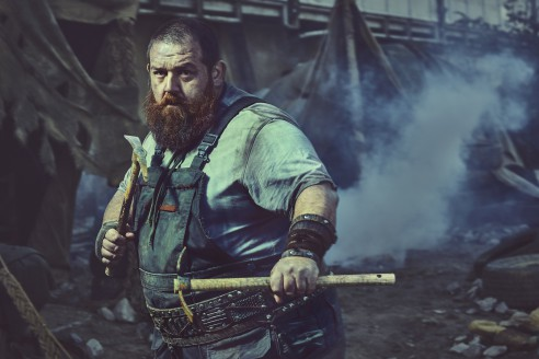 Nick Frost as Bajie - Into the Badlands _ Season 2, Gallery - Photo Credit: Carlos Serrao/AMC