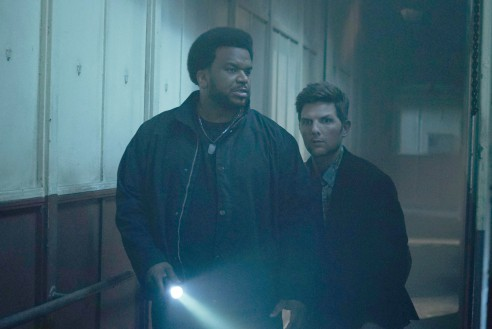 GHOSTED:  L-R: Craig Robinson and Adam Scott in GHOSTED premiering this fall on FOX. ©2017 Fox Broadcasting Co.  Cr:   XX/Fox