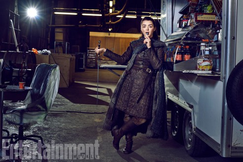 Game of Thrones - Season 7 Maisie Williams Photograph by Marc Hom on November 22, 2016 in Belfast.