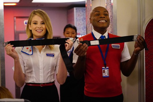 LA -> VEGAS:  L-R: Kim Matula and Nathan Lee Graham in LA -> VEGAS premiering midseason on FOX.  ©2017 Fox Broadcasting Co.  Cr:  Kevin Estrada/Fox