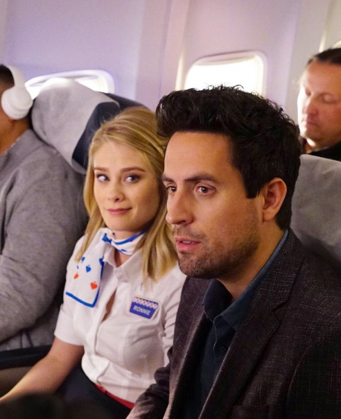 LA -> VEGAS:  L-R: Kim Matula and Ed Weeks in LA -> VEGAS premiering this on FOX.  ©2017 Fox Broadcasting Co.  Cr:  Kevin Estrada/Fox