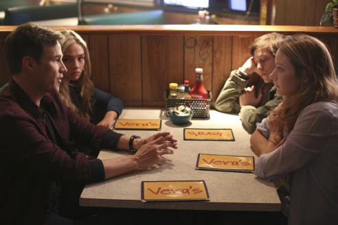 THE GIFTED:  L-R:  Stephen Moyer, Natalie Alyn Lind, Percy Hynes White and Amy Acker in THE GIFTED premiering     on FOX.  ©2017 Fox Broadcasting Co.  Cr:  Ryan Green/FOX